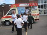 Schools free ice cream day